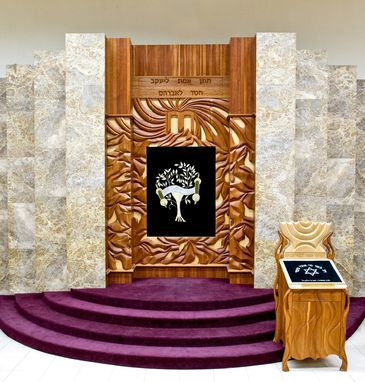 Custom Made Mount Sinai Ark-Aron Kodesh