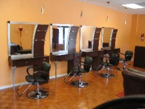 Custom Made Salon Stations