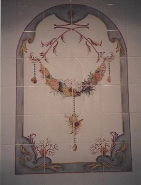 "Custom Made 24 Pc., 8x8""  Ceramic Tile."