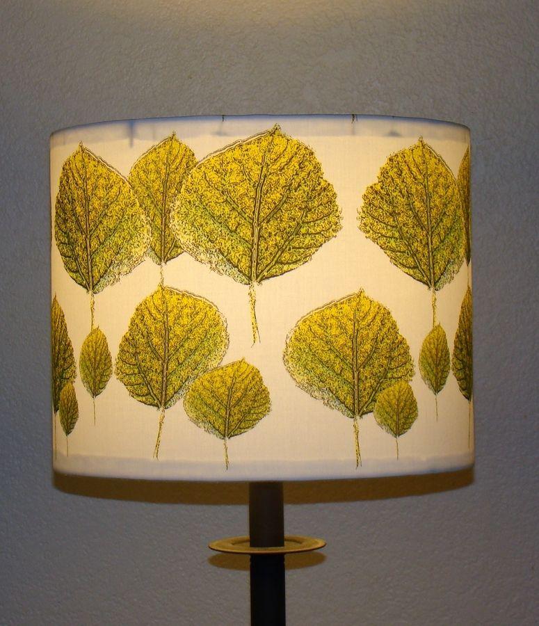 Custom Made Lamp Shade: Custom Made Colorado Aspen Lamp Shade,Lighting