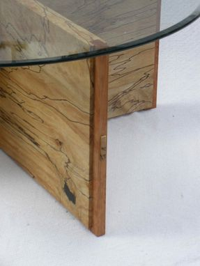 Custom Made X Coffee Table