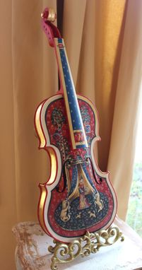 Custom Made Custom Painted Violin
