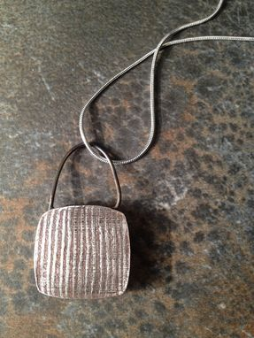 Custom Made Sterling Silver Locket