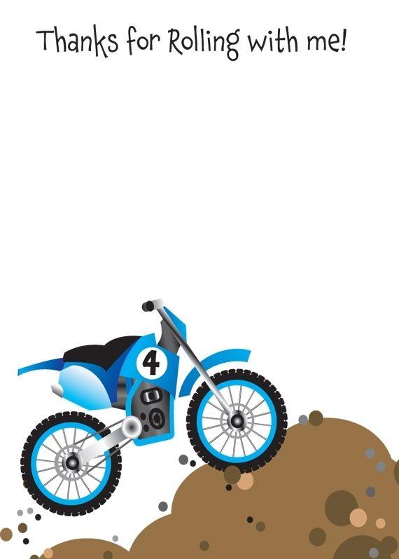 Handmade dirt bike birthday party invitation by t bone squid handmade dirt bike birthday party invitation by t bone squid paperteria custommade filmwisefo