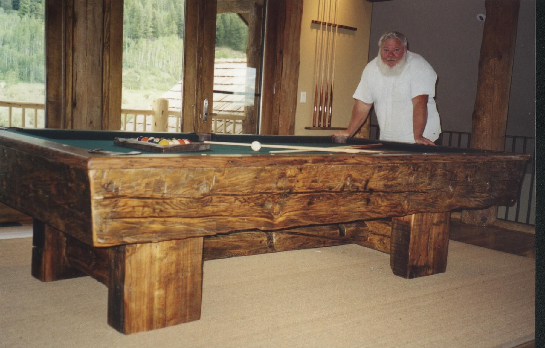 Stupendous Custom Timber Billiard Tables By Roaring Fork Custom Beutiful Home Inspiration Xortanetmahrainfo