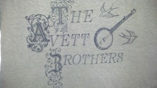 Custom Made Sale The Avett Brothers Shirt, Women's Olive Green Small 3/4 Sleeves Shirt, Ready To Ship