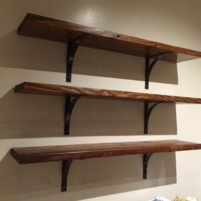 Handmade Steel Shelf Bracket By Jonathan Stephen