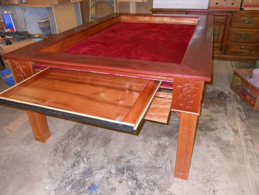 Custom Made Wood Dining/Gaming Table