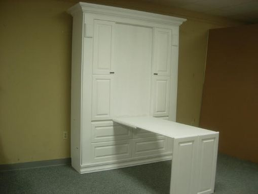 Custom Made Smithsonian Murphy Wall Bed With Desk