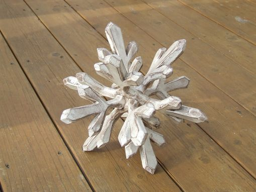 Custom Made Tabletop Art & Decor Snowflake