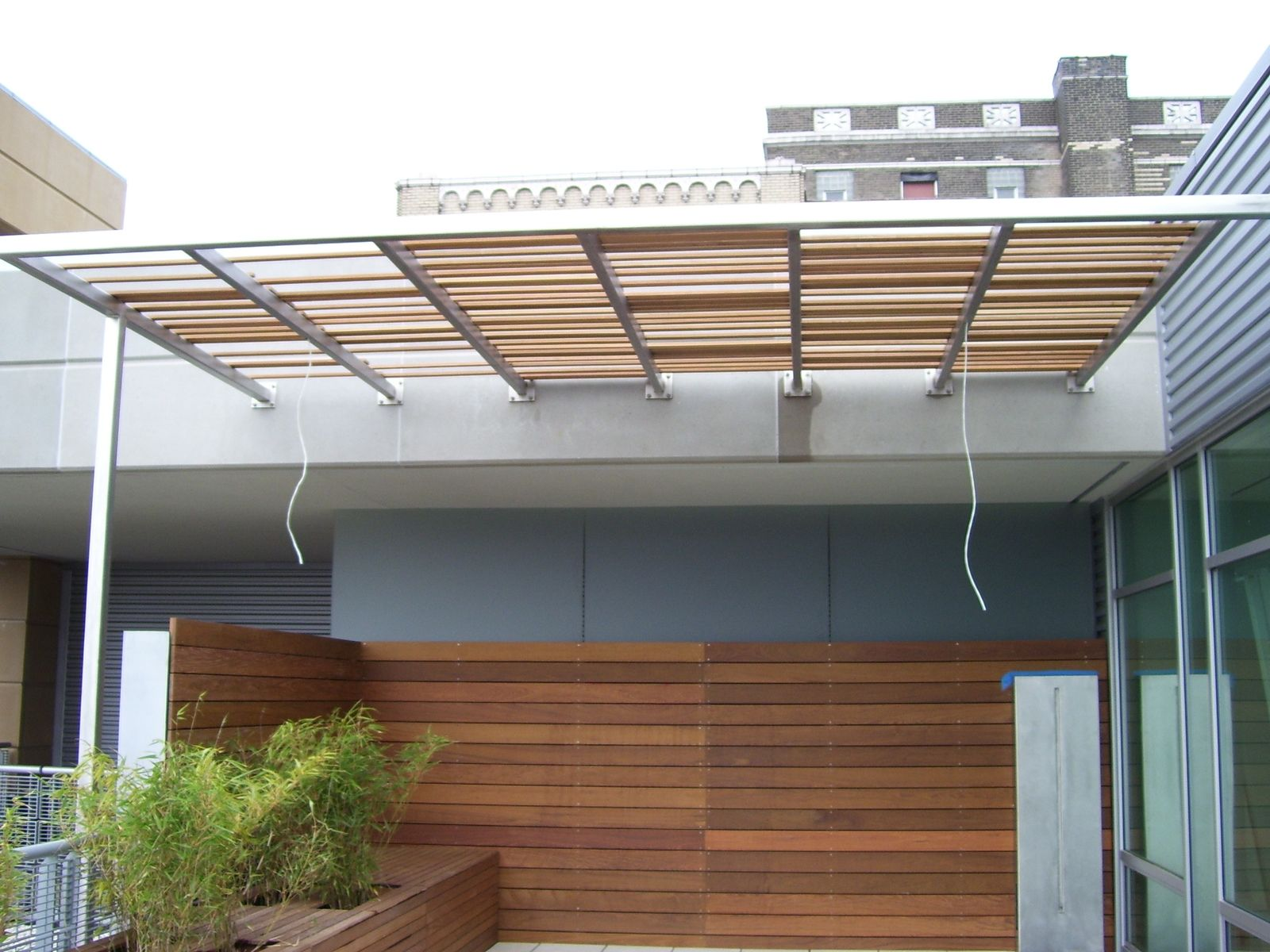 Hand Made Loft Patio Awning By Foreman Fabricators Inc