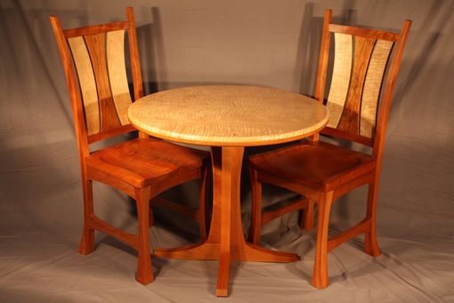 Custom Made Cafe Table And Chairs