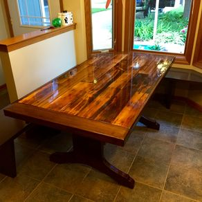 Hand Made Cube Dining Table by Cannon Custom Woodworking LLC ...