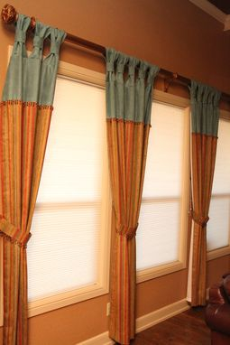 Custom Made Custom Drapery Treatments