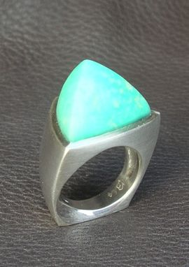 Custom Made Chrysoprase Ring