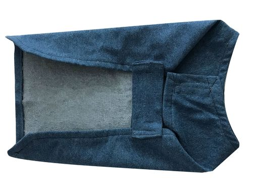 Custom Made Denim Blanket Coat