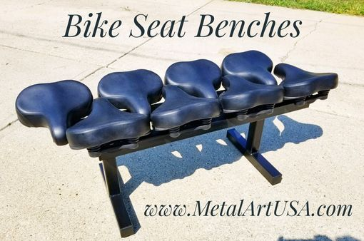 Custom Made Bike Seat Benches