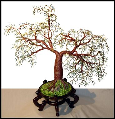 Custom Made Creating Gem, Beaded, And Bonsai Wire Trees