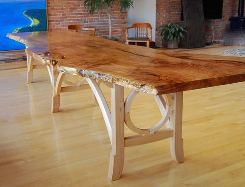 Custom Made Big Leaf Maple Conference Table