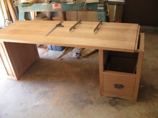 Custom Made Custom Office Desk For Cpa