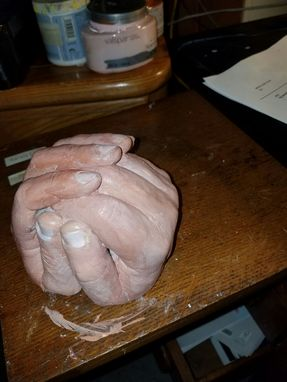 Custom Made Custom Sculptured Hands