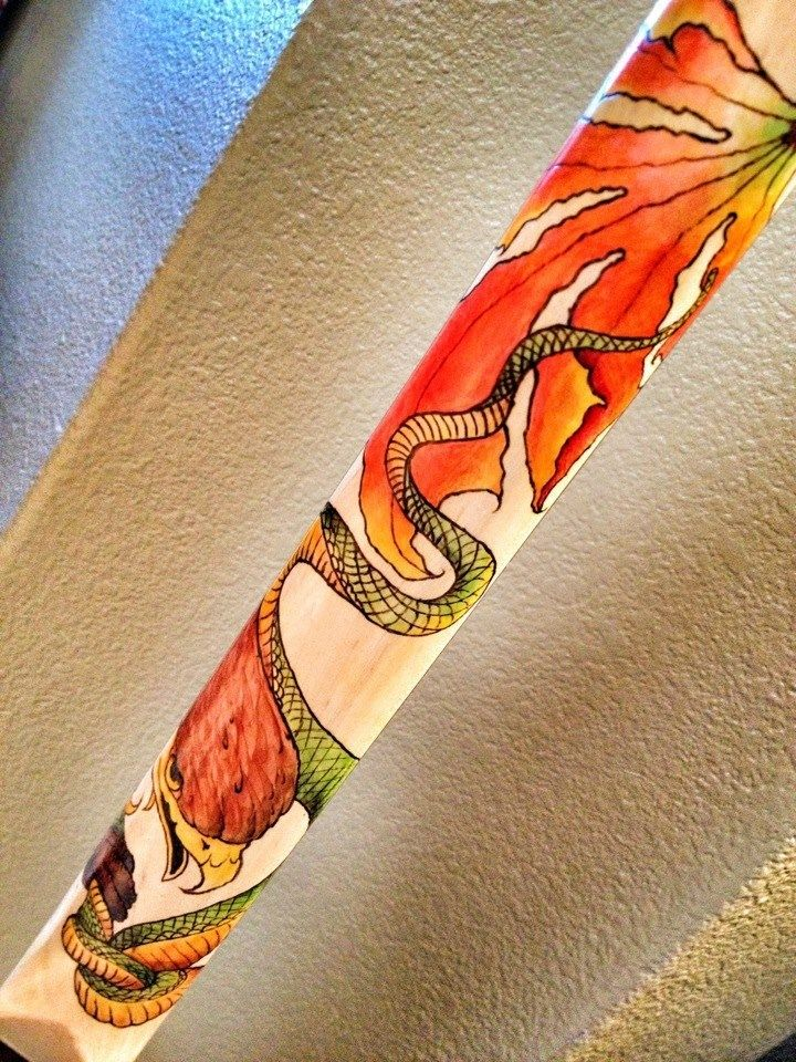 Hand Crafted Custom Pyrography Art On Wood By ThreeManTiger Arts