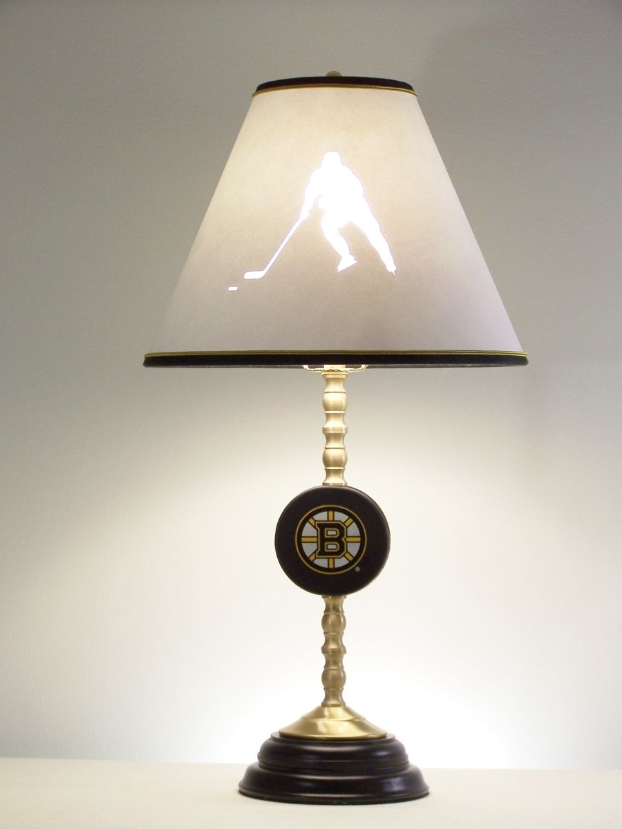 Hand Made Hockey Table Lamp By Barbara Gail S Lamps