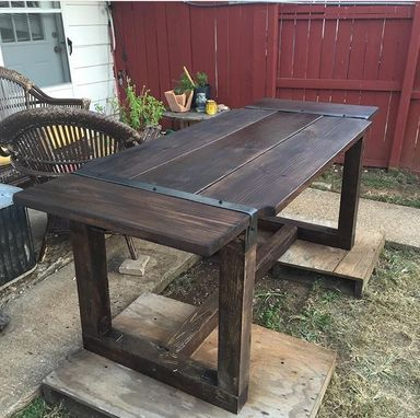 Custom Made Rustic Barn House Tables