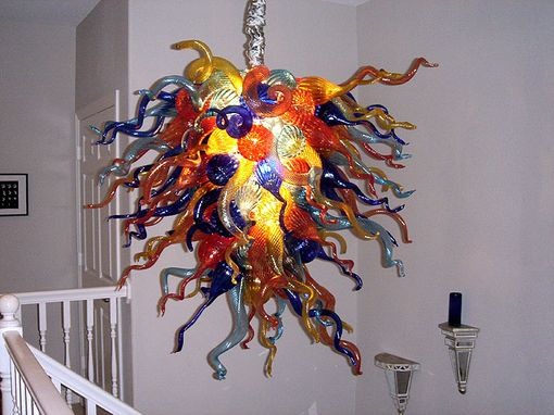 Custom Made 'Rainbow Series' | Inspired By Glass Art Chandeliers | Custom Made Functional Glass Art