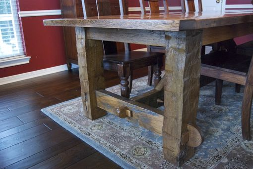 Custom Made Barnwood Table