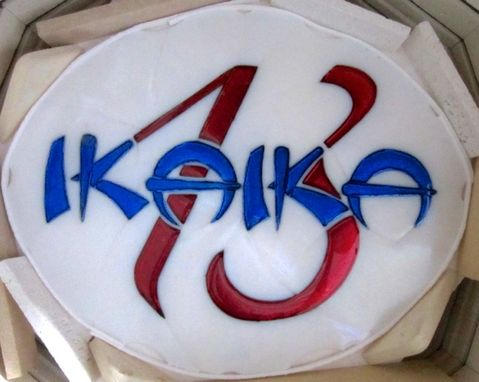 Custom Made Company Logo Panel- Ikaika 13