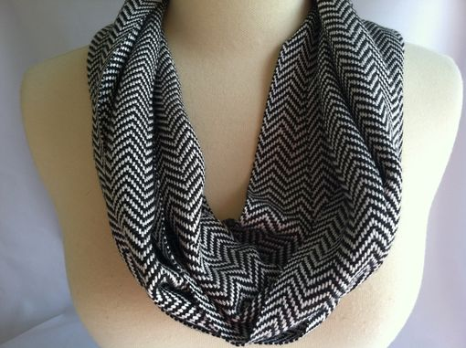 Custom Made Chevon Infinity Scarf