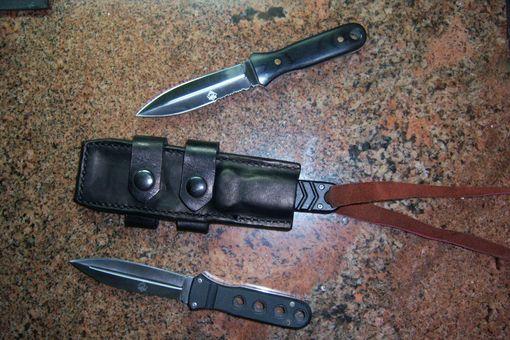 Buy A Custom Horizontal Belt Carry Tactical Sheath And