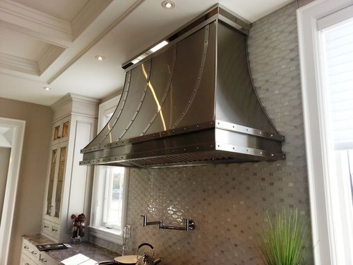 Custom Made Stainless Steel Range Hood S1