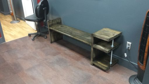 Custom Made Industrial Table/Benches