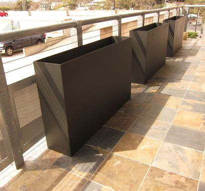 Custom Made Custom Steel Planters