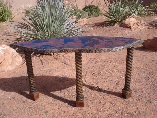 Custom Made Copper Tables