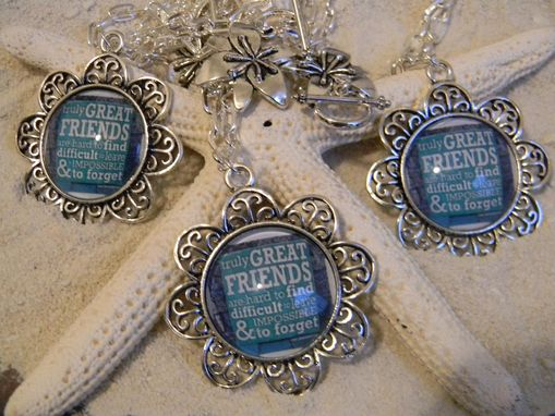 Custom Made Necklaces And Designed Bezel Pendants