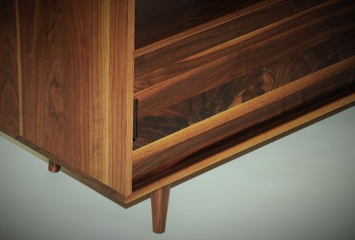 Custom Made Mid Century Media Console