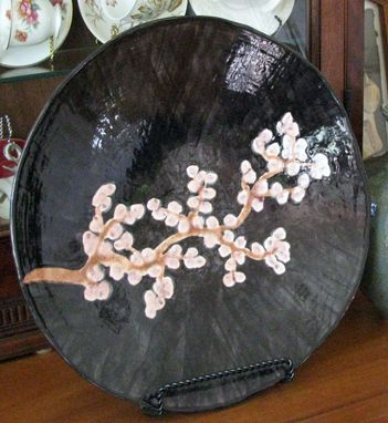 Custom Made Cherry Blossoms Platter