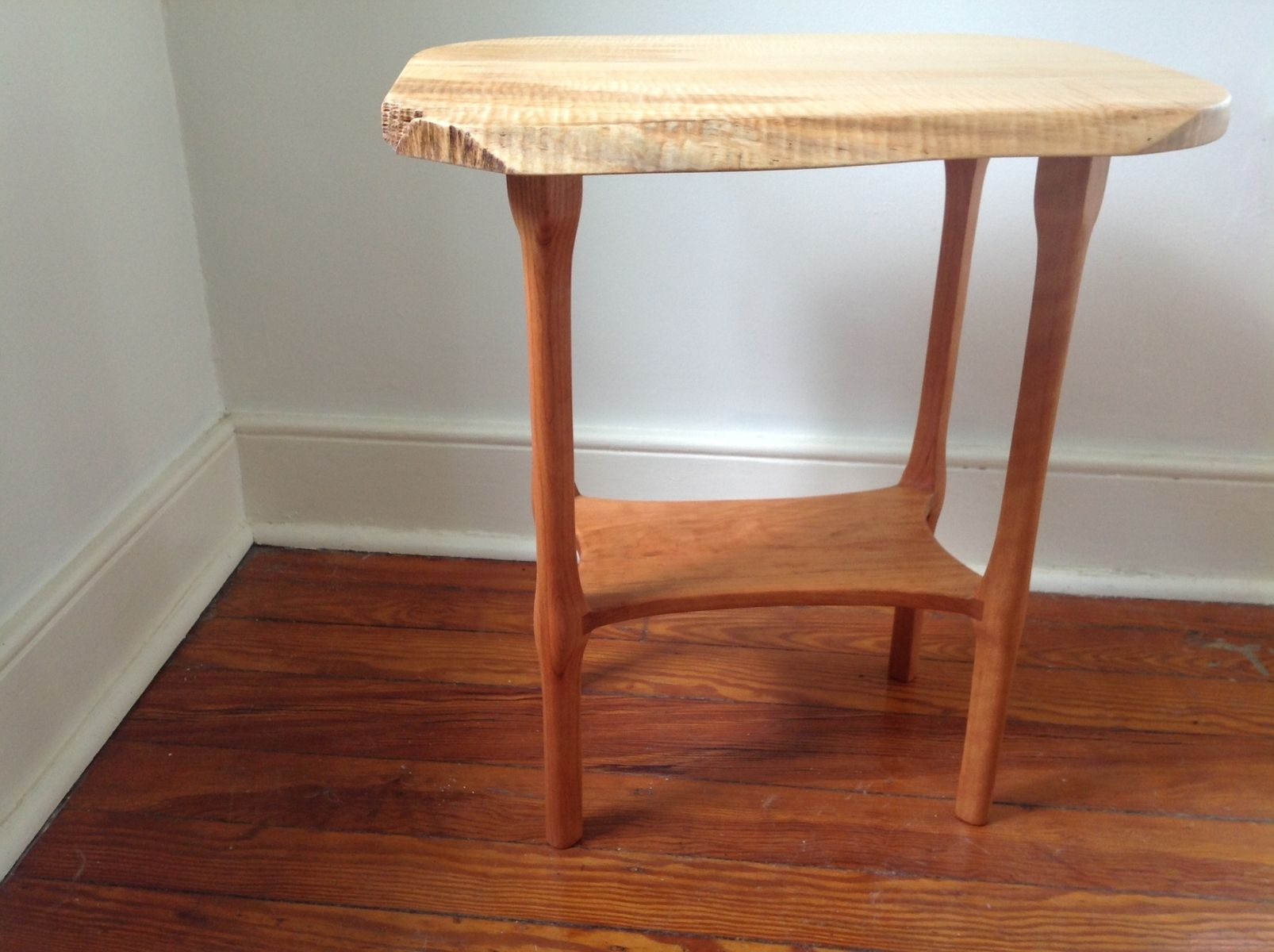 handmade end tables handmade live edge end table by martell woodworks 4648
