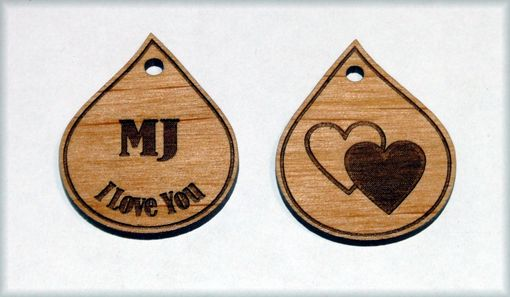 Custom Made Custom Charms Made Of Wood Or Flexible Acrylic