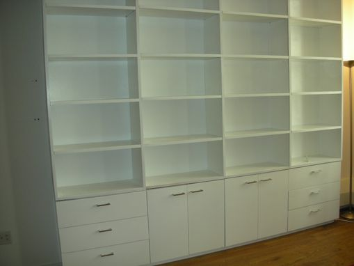 Custom Made Modern Wall Unit