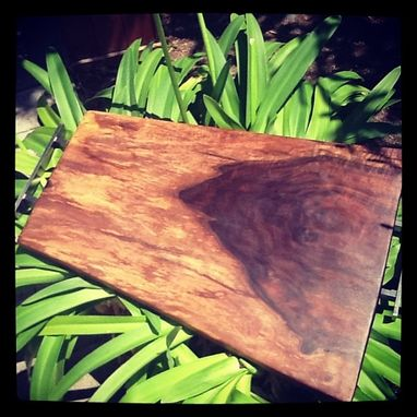 Custom Made Live Edge Walnut Serving Tray/Cutting Board