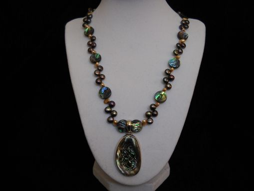 Custom Made Abalone Necklace