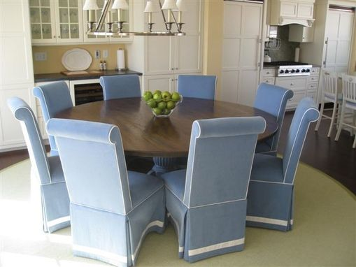 Custom Made Dining Table For Coastal Home