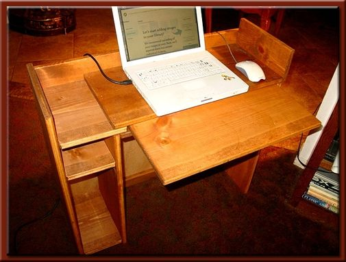 Custom Made Laptop Computer Desk