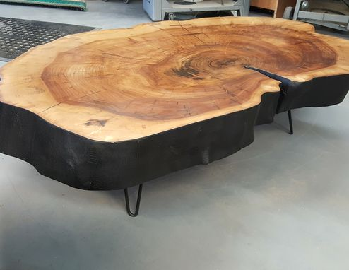 Custom Made Amazing Black Willow Coffee Table