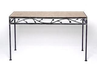Custom Made Metal Vine Console Table