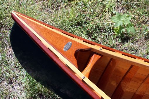 Custom Made Classic Cedar Canvas Canoes